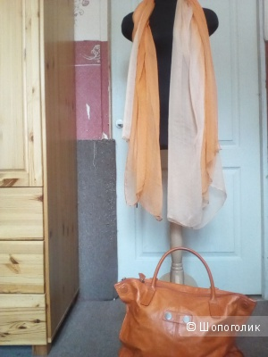Сет:шарф (палантин) +сумка шоппер