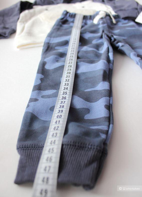 Комплект Carters 2в1, размер 24м (81- 86 см)
