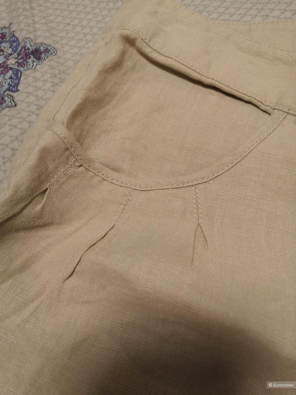 Льняные брюки-капри Victoria's Secret 54 размер