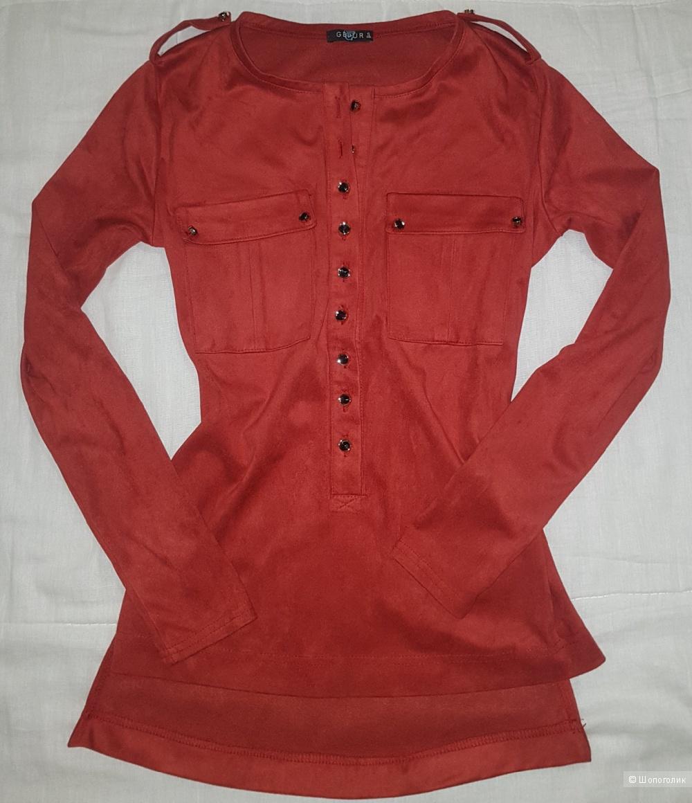 Замшевая блузка GEPUR La vie  размер S