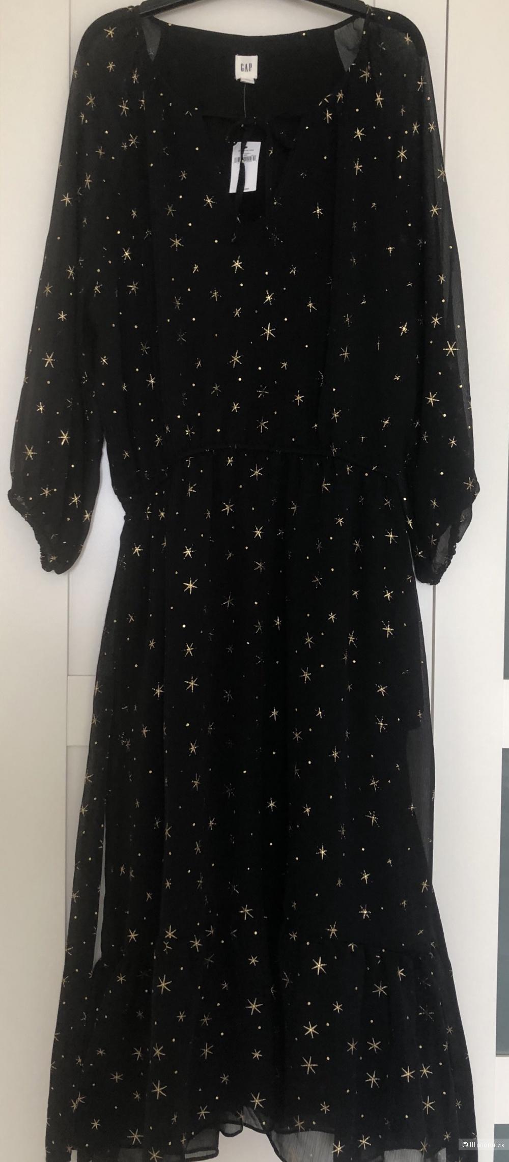 Платье Gap с Золотыми звёздами L
