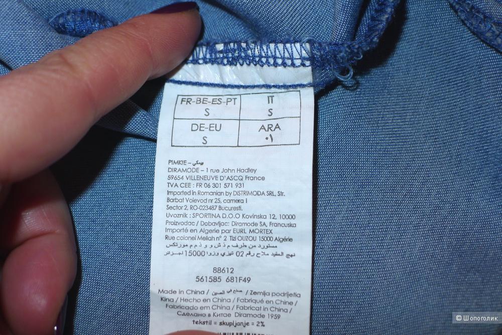 Джинсовая рубашка PIMKIE  размер S