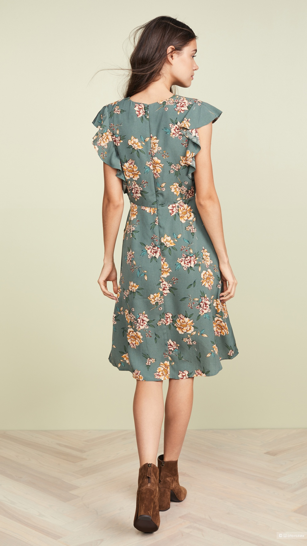 Платье миди J.O.A. размер S
