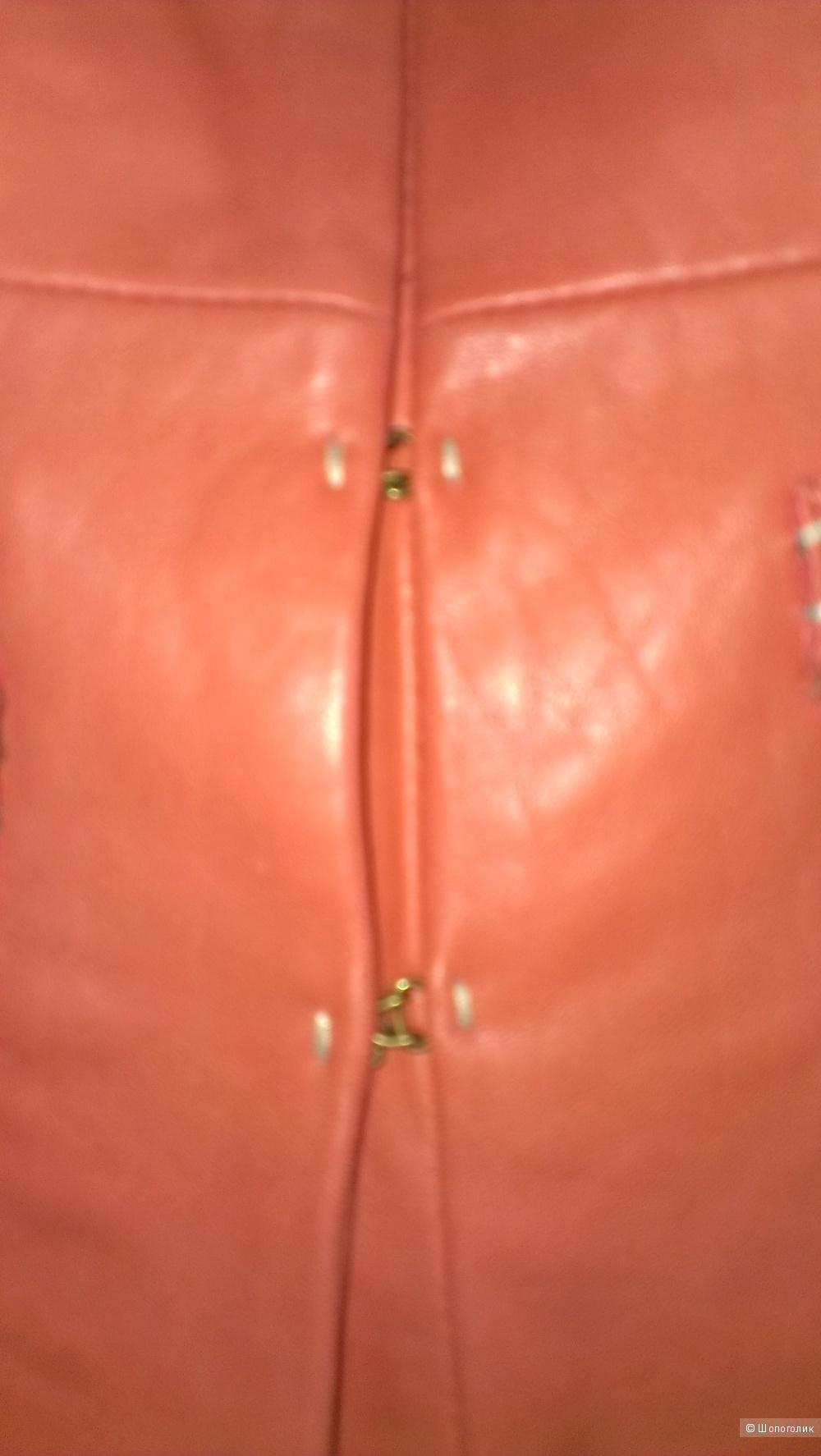 Куртка кожаная T Tahari размер XS