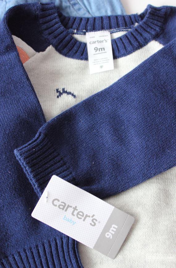 Комплект Carters 2в1 для девочки, размер 9м (69-72см)