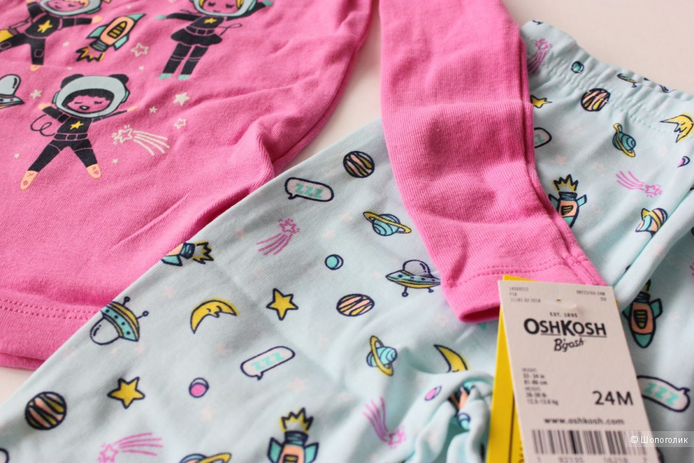 Детская пижама OshKosh B'gosh, размер 24м (81- 86 см)