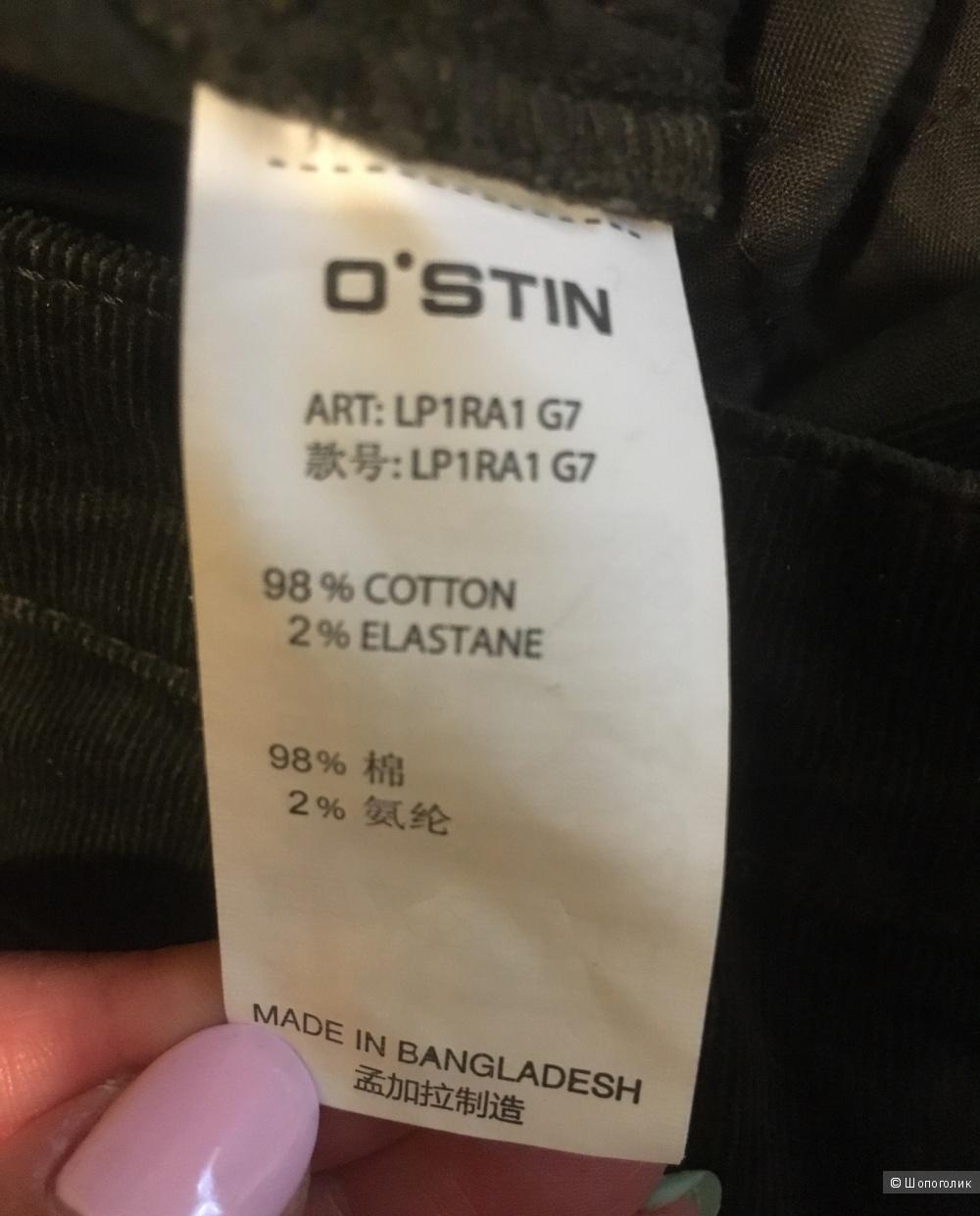 Брюки вельветовые Ostin размер L( 48)