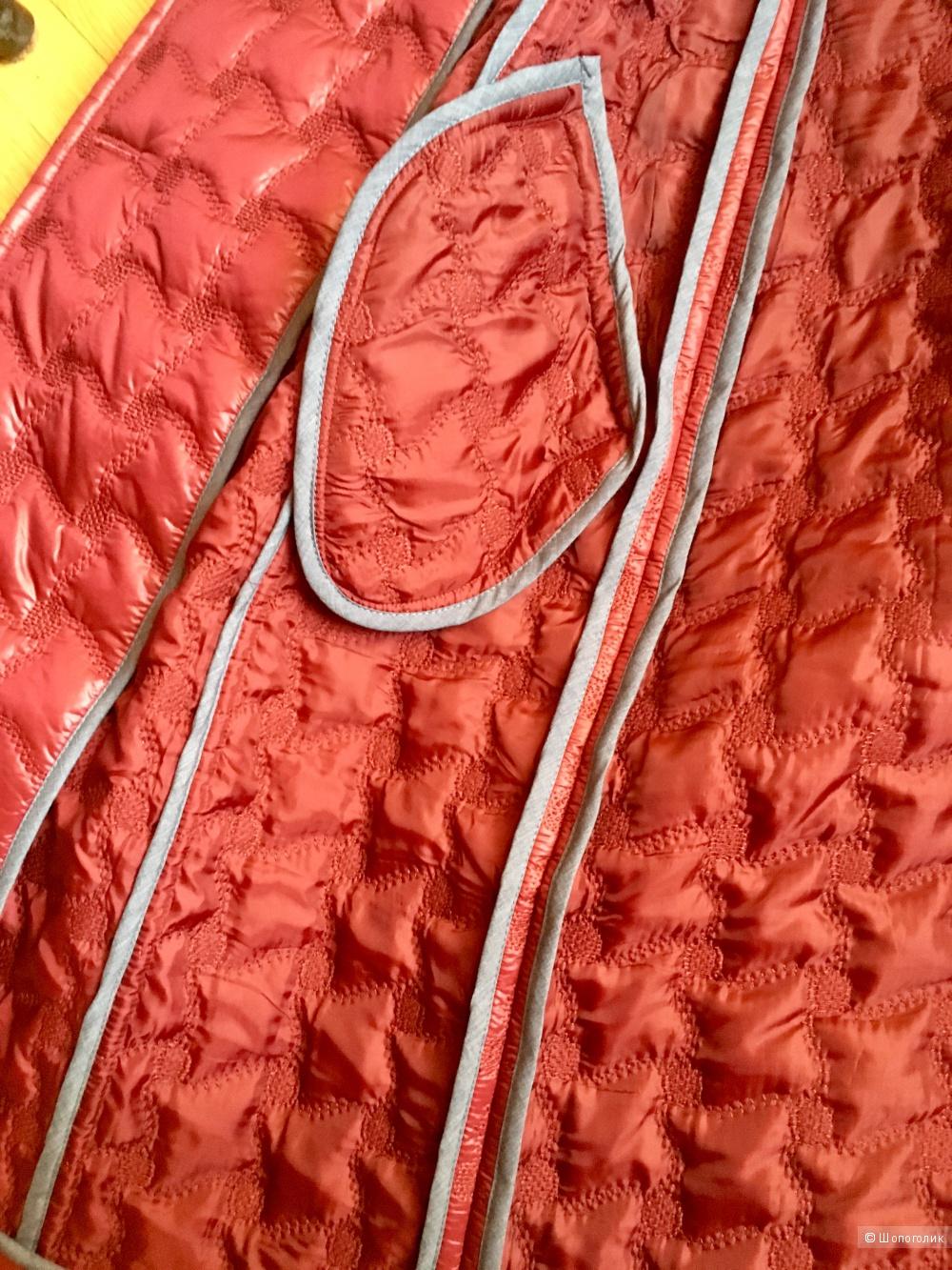Стёганое пальто тренч, No name, M размер