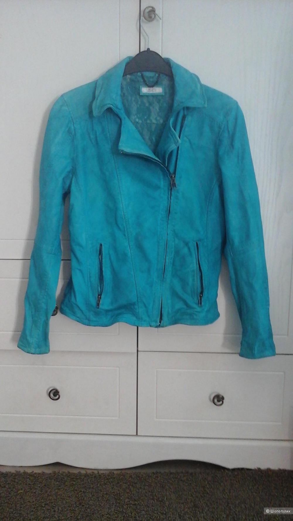 Кожаная куртка Bomboogie, размер 44-46