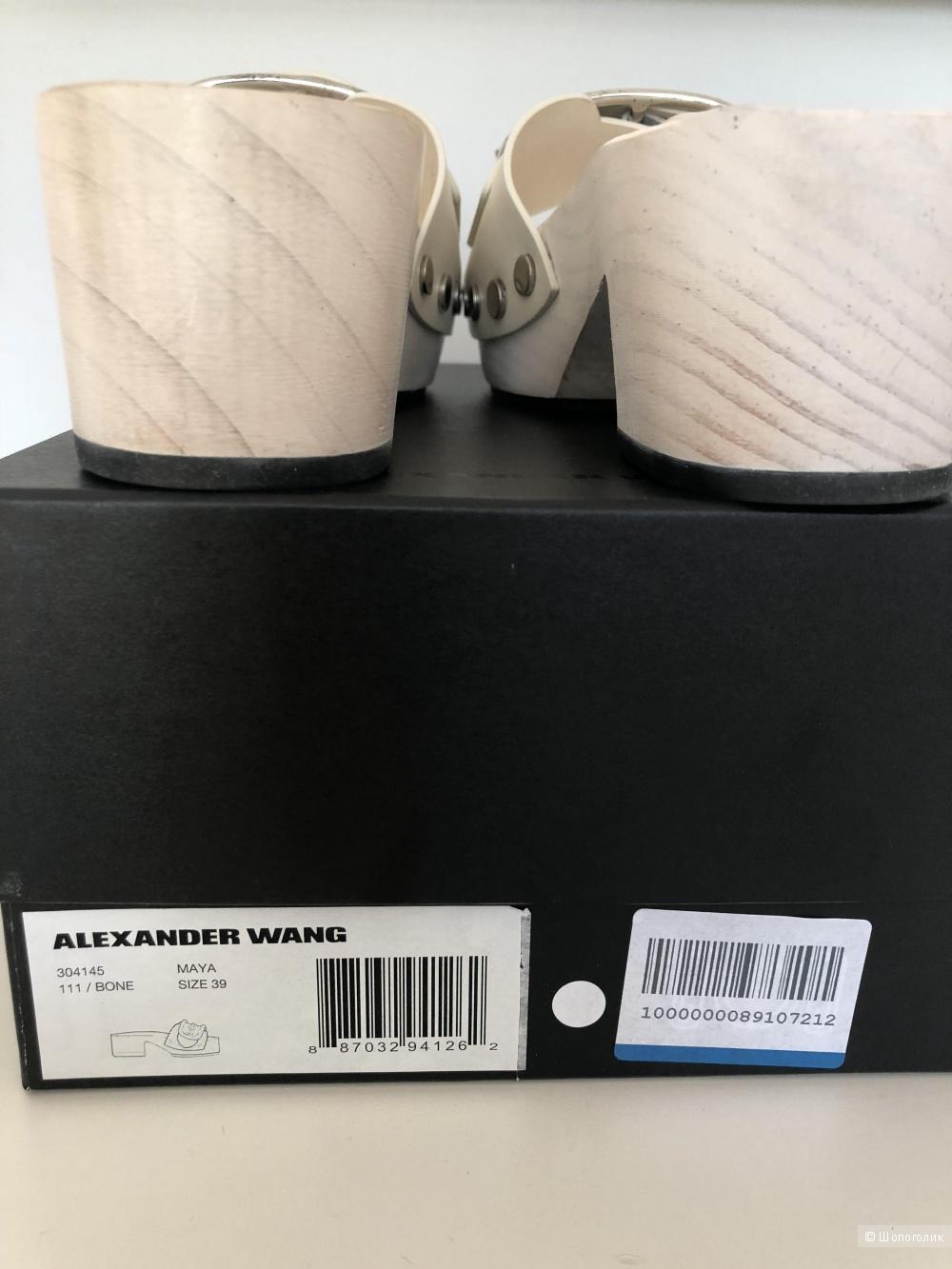 Alexander Wang , мюли 39 размер