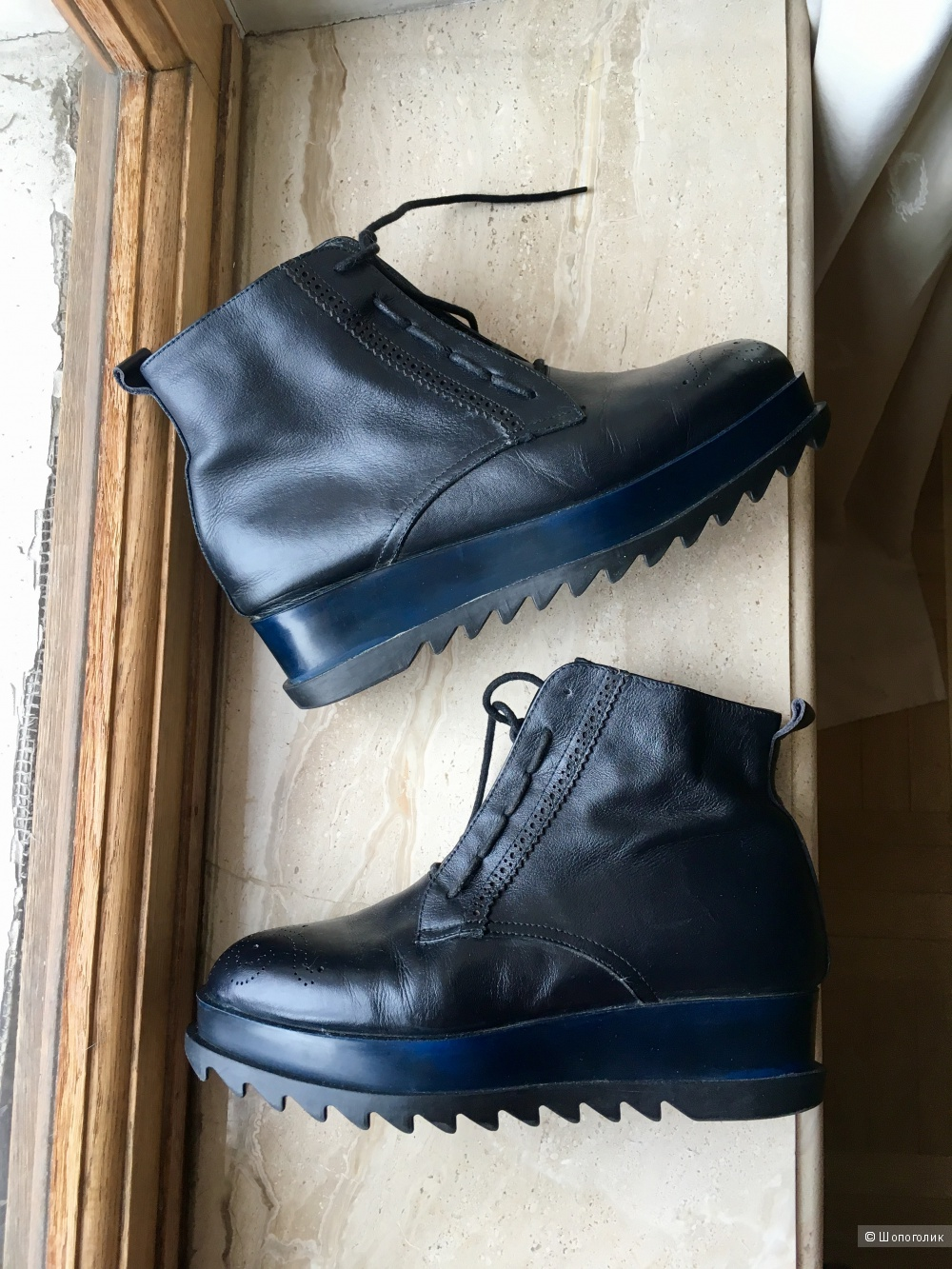 Кожаные ботинки Kiss Moon, 38 размер