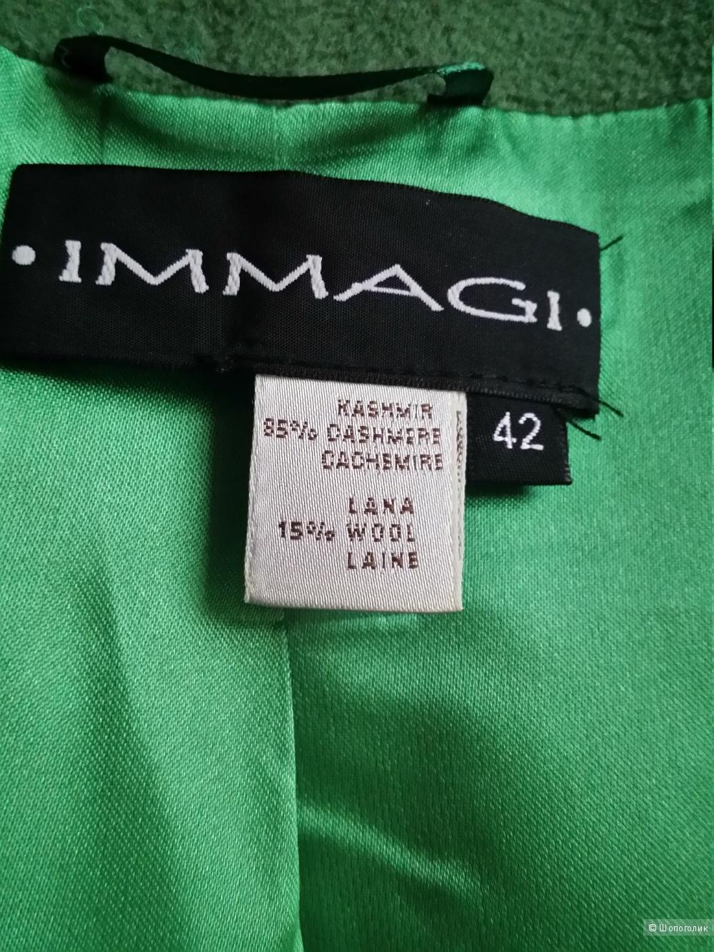 Кашемировое пальто Immagi, 44-46  р-р