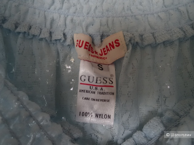 Топ guess jeans, размер S