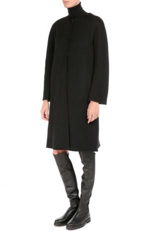 Кашемировое пальто шоколадного цвета  Immagi, 44