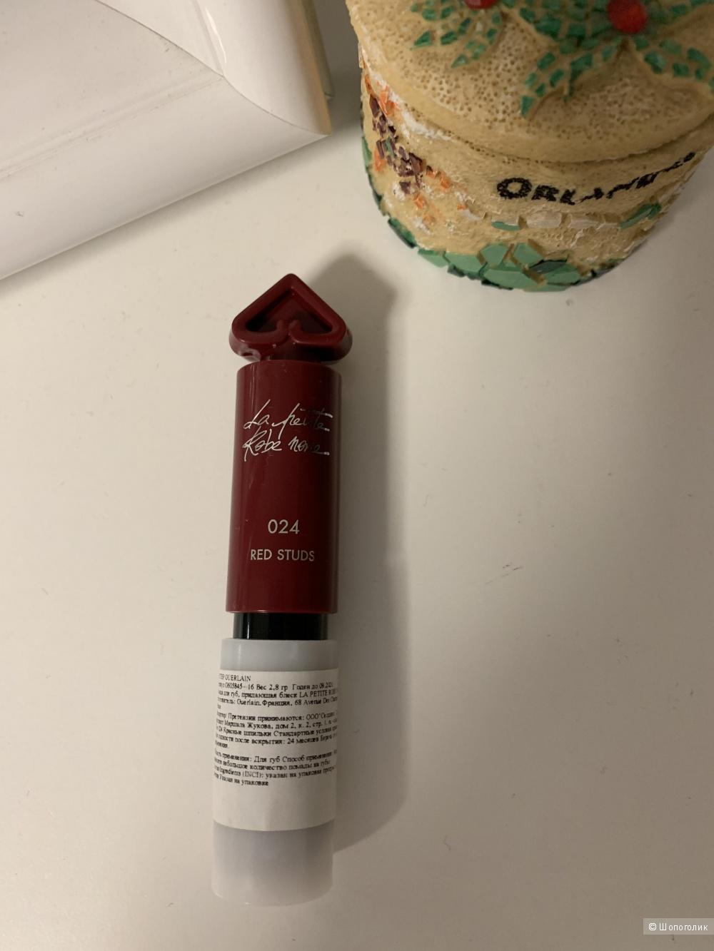 Губная помада Guerlain la petite robe noire, 024 red studs