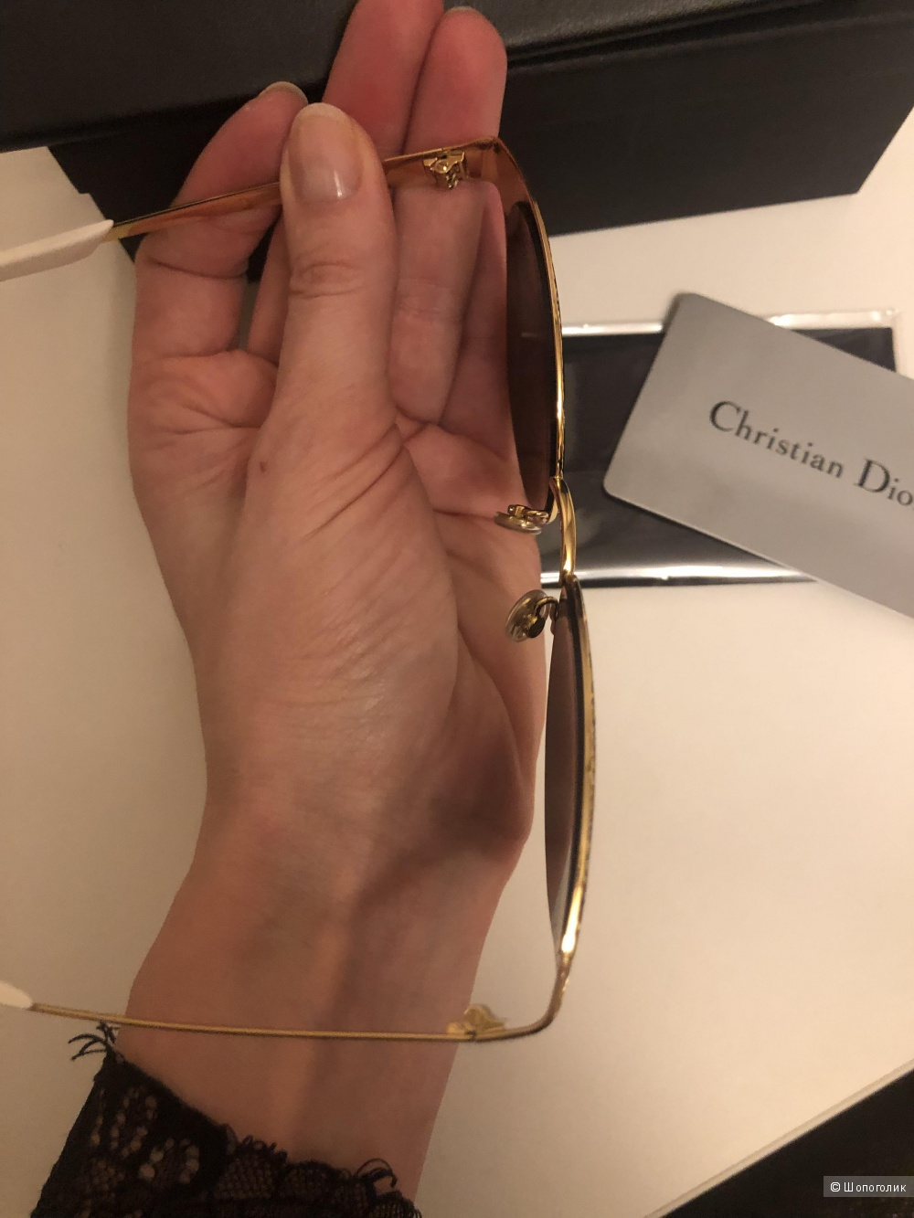 Очки Dior.