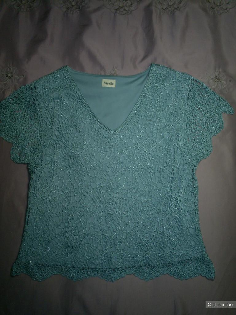 Кофта -футболка от Viyella р.L на 48-50 русс.