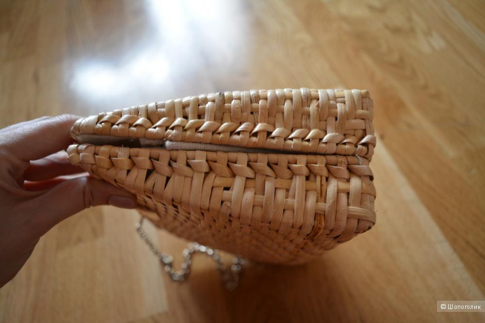 Сумка плетеная Zara