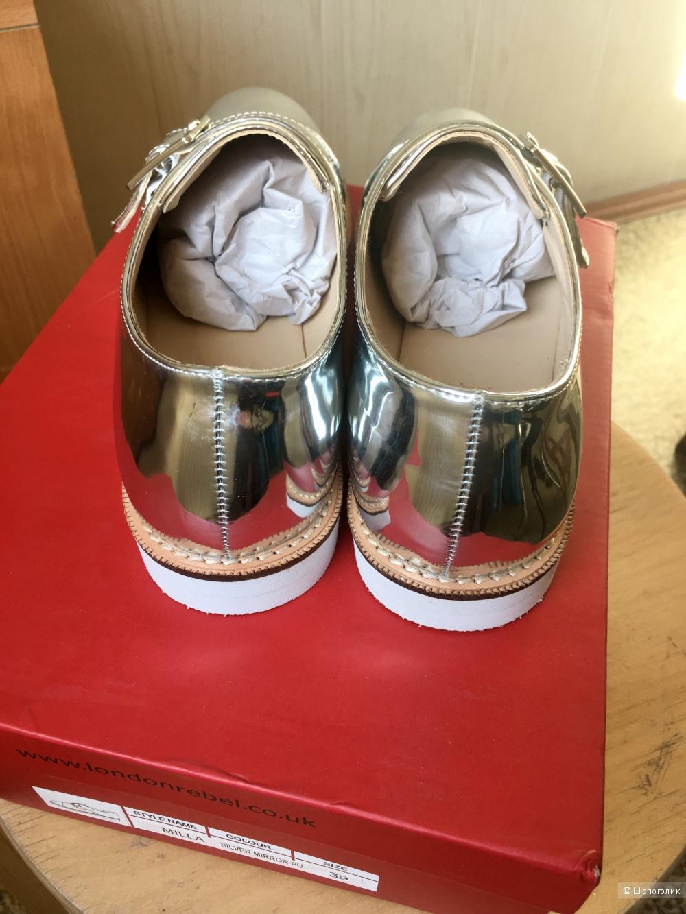 Ботинки Rebel London, 38 размер
