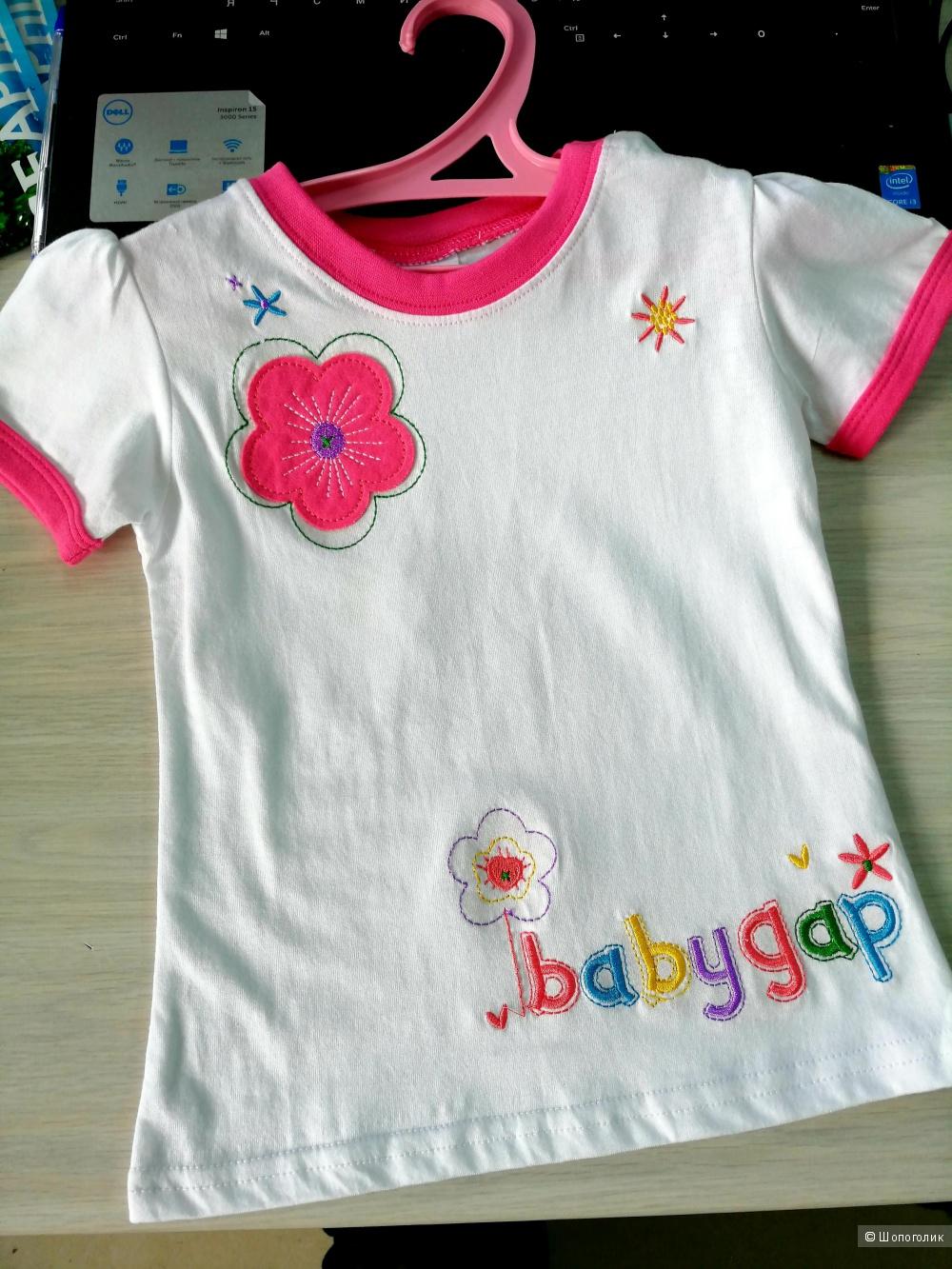 Детская футболка на девочку