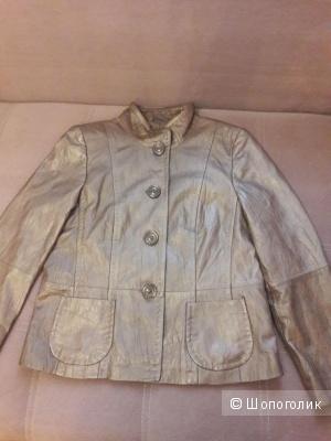 Кожаная куртка-пиджак Gerry Weber 46 размера
