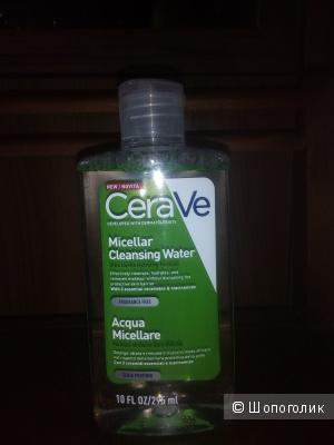 Увлажняющая, очищающая мицеллярная вода CeraVe