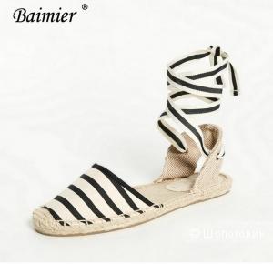 Эспадрильи новые Baimier 39 размер