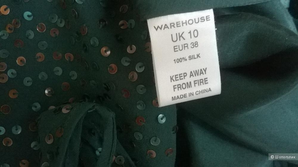 "Топ блузка ""WAREHOUSE"" р.10/38 ( на 44-46)"