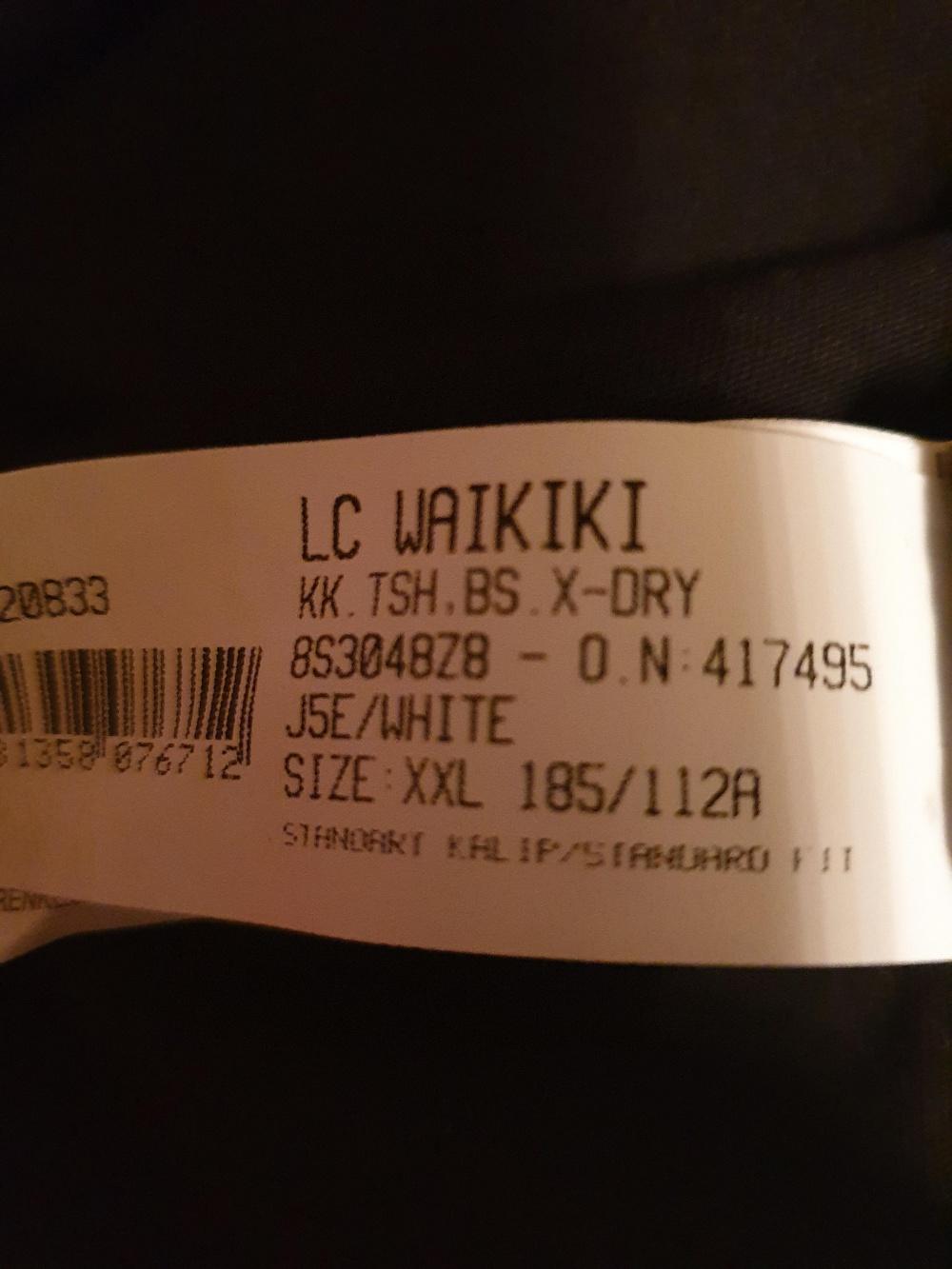 Футболка ф-ма Waikiki XXL