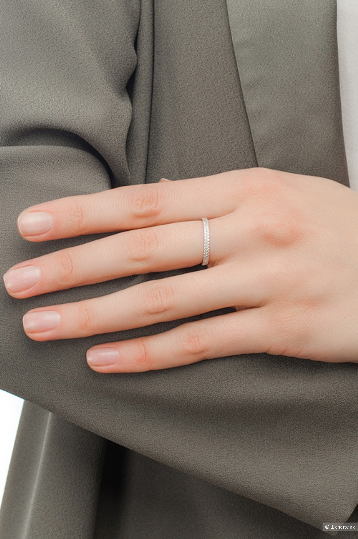 Золотое кольцо Sunlight, размер 16