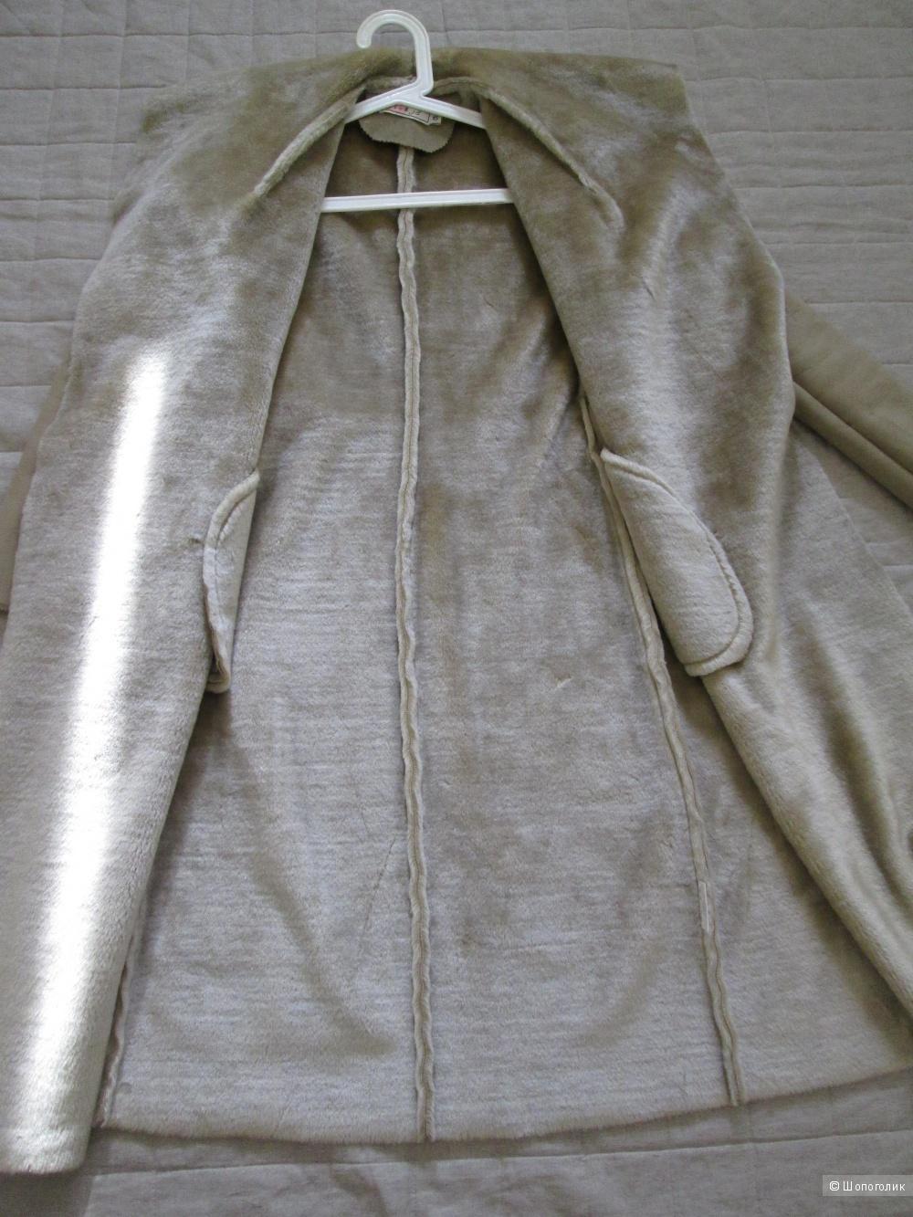 Дублёнка - пальто  Flo & Jo р.40-42