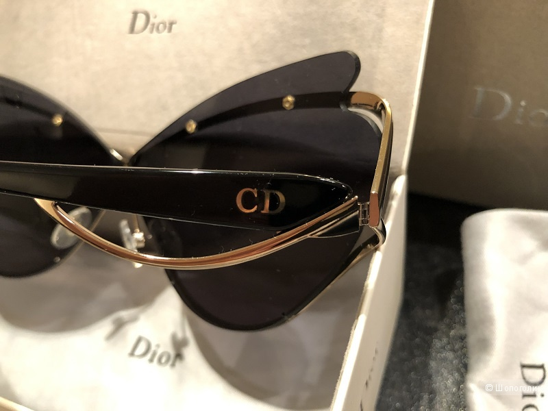 Солнцезащитные очки DIOR Audacieuse - Эффект бабочки