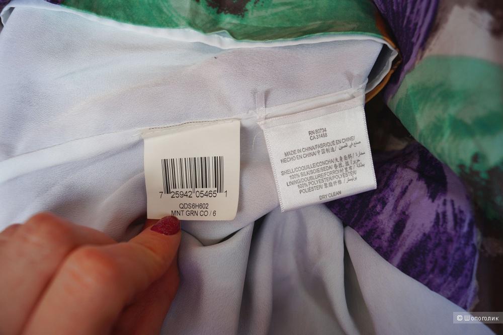 Шелковое платье Bcbgmaxazria р.42