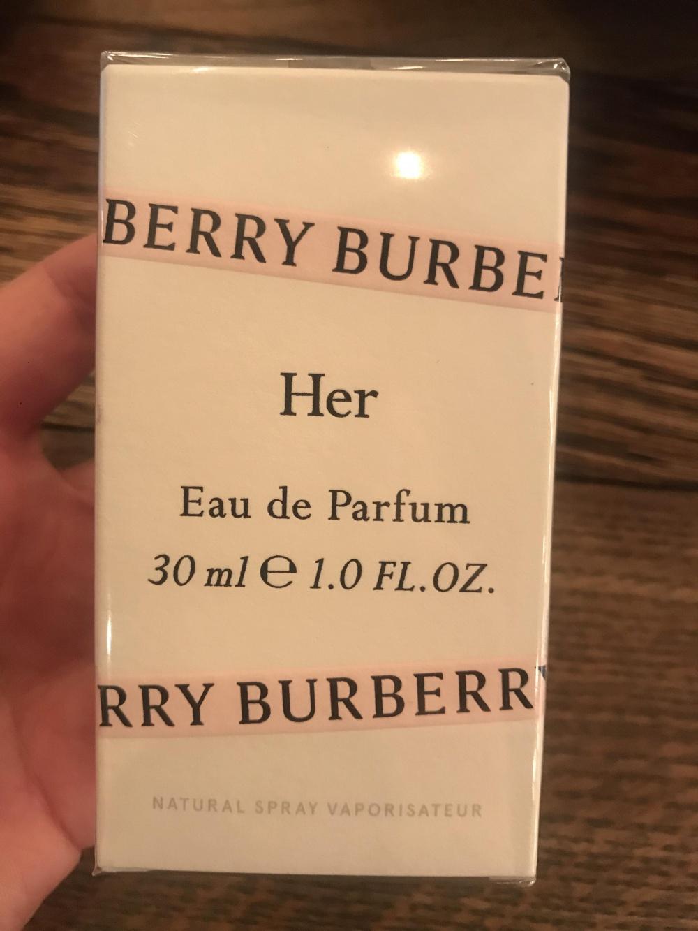 Парфюмированная вода Burberry Her, 30 мл