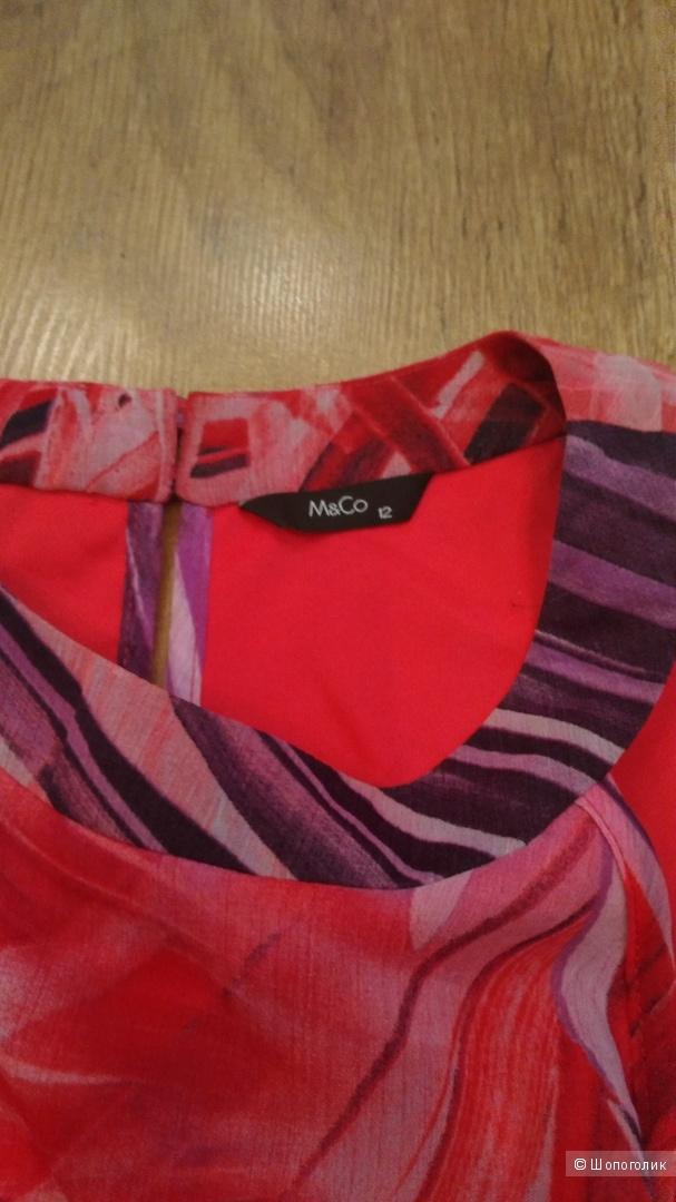 Блузка (топ) M & Co р.46-48