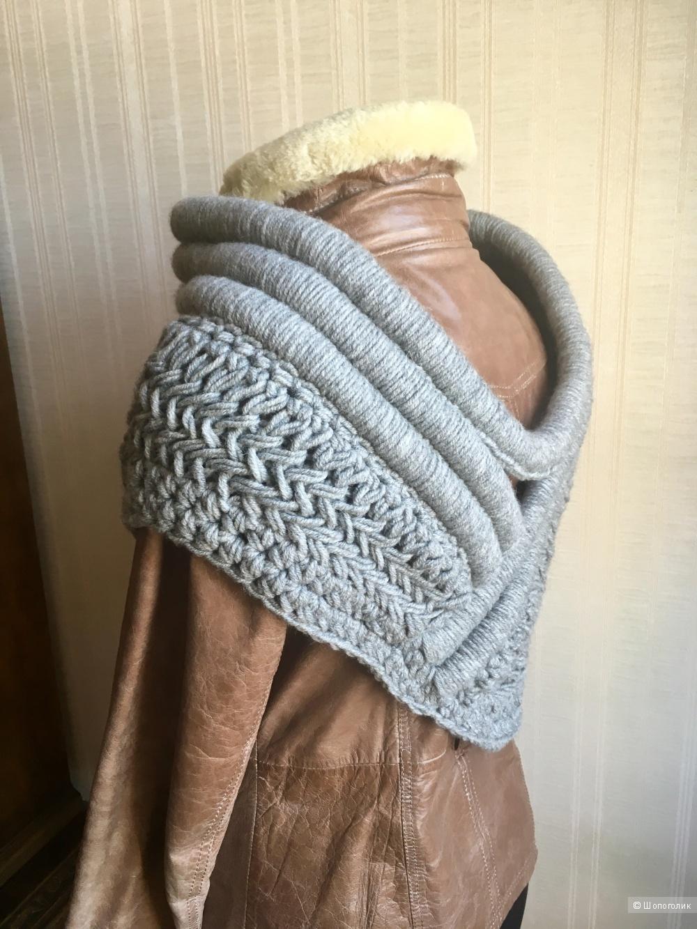 Сет из шарфа и куртки, М и one size