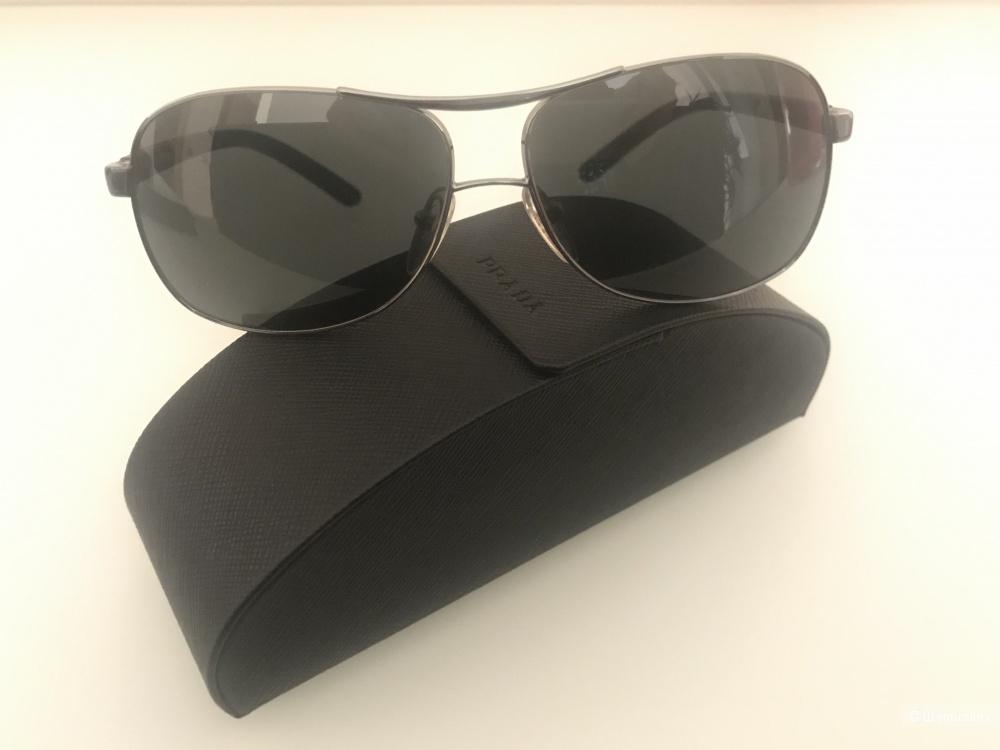 PRADA солнцезащитные очки-авиаторы