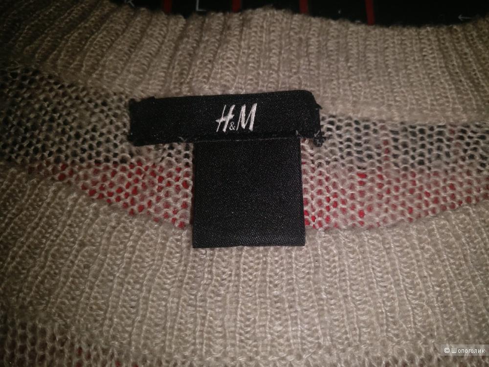 Свитер в полоску H&M, размер S