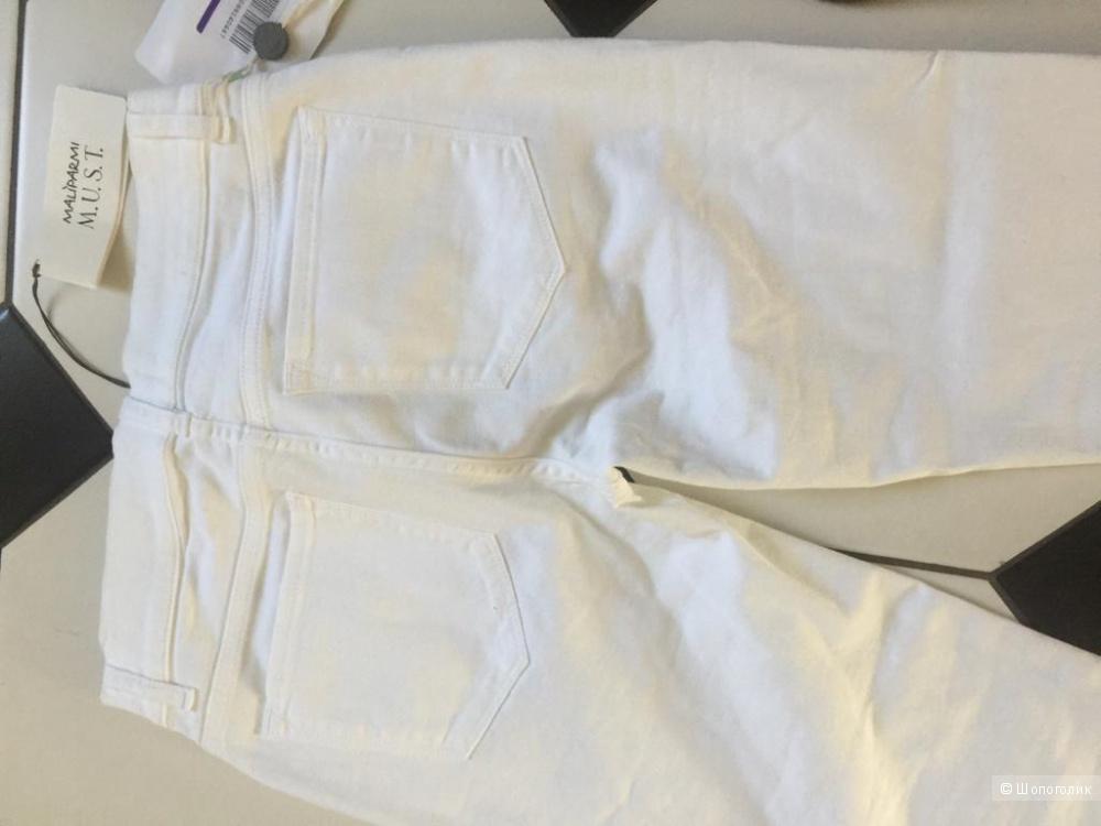Джинсы белые  MALÌPARMI M.U.S.T.  размер 25