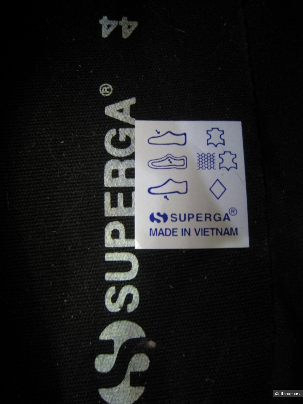 Кеды мужские Superga натур. кожа, 44