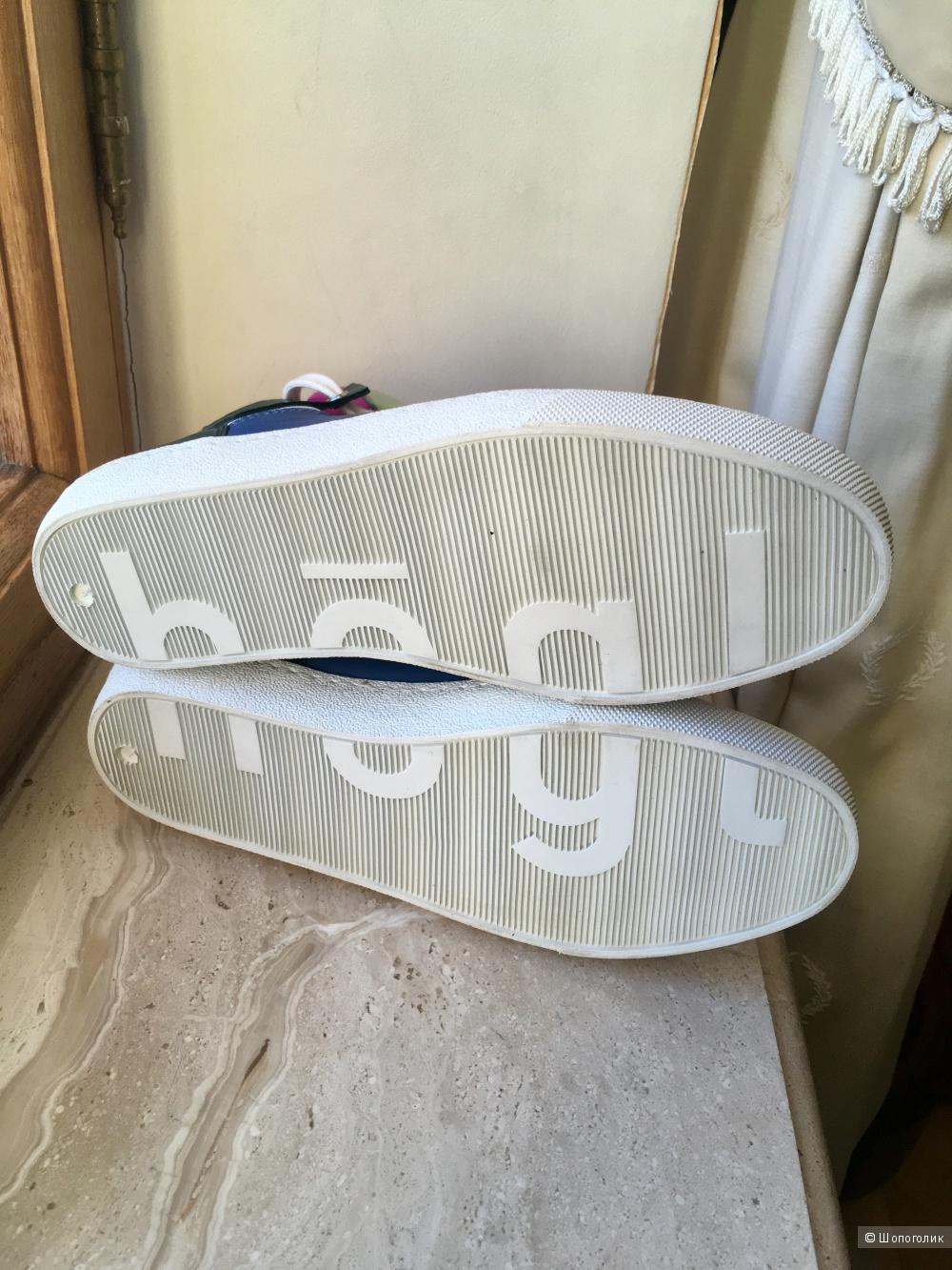 Кожаные кеды Hogl, 37 размер