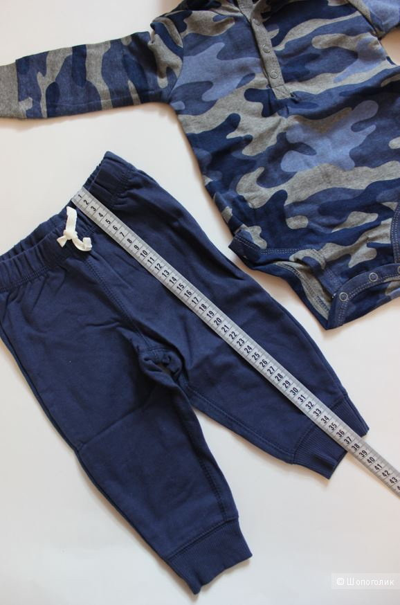 Комплект Carters 2в1 для мальчика, размер 9м ( 69-72 см)