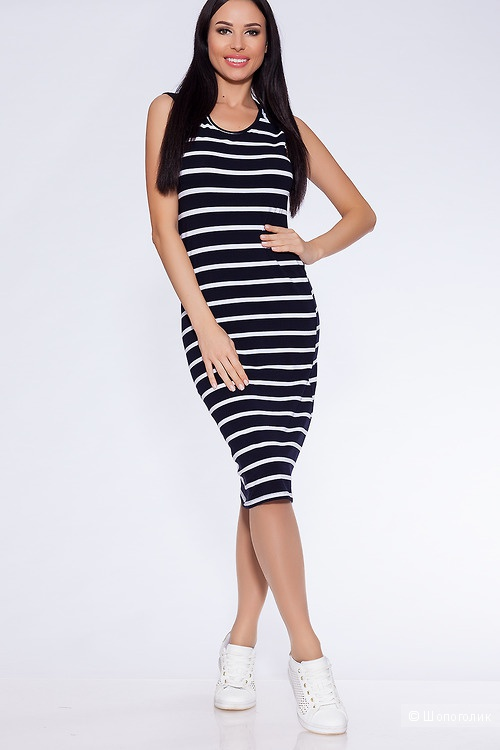Платье Черно-белый