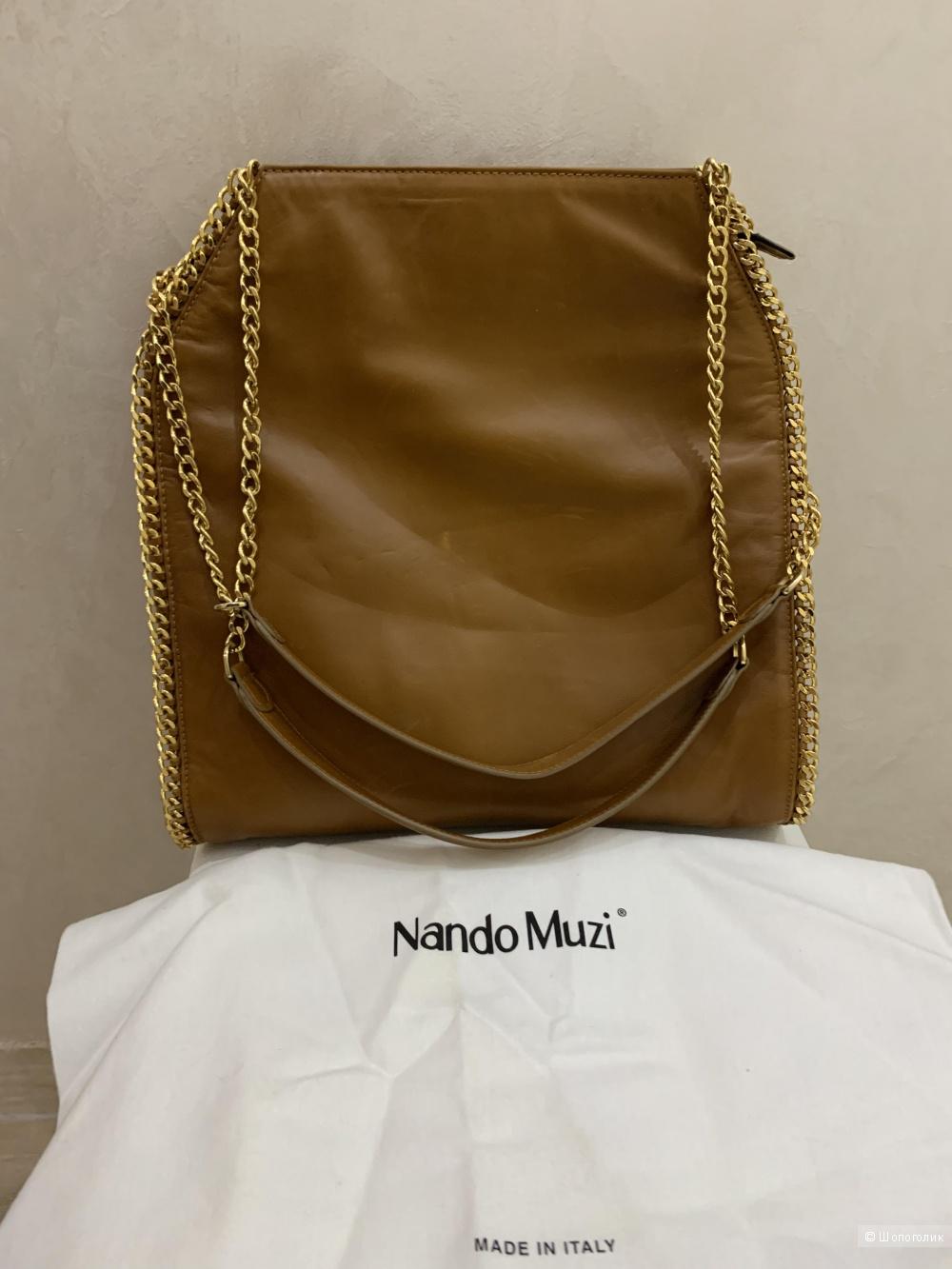 Сумка Nando Muzi, размер 40-36-9