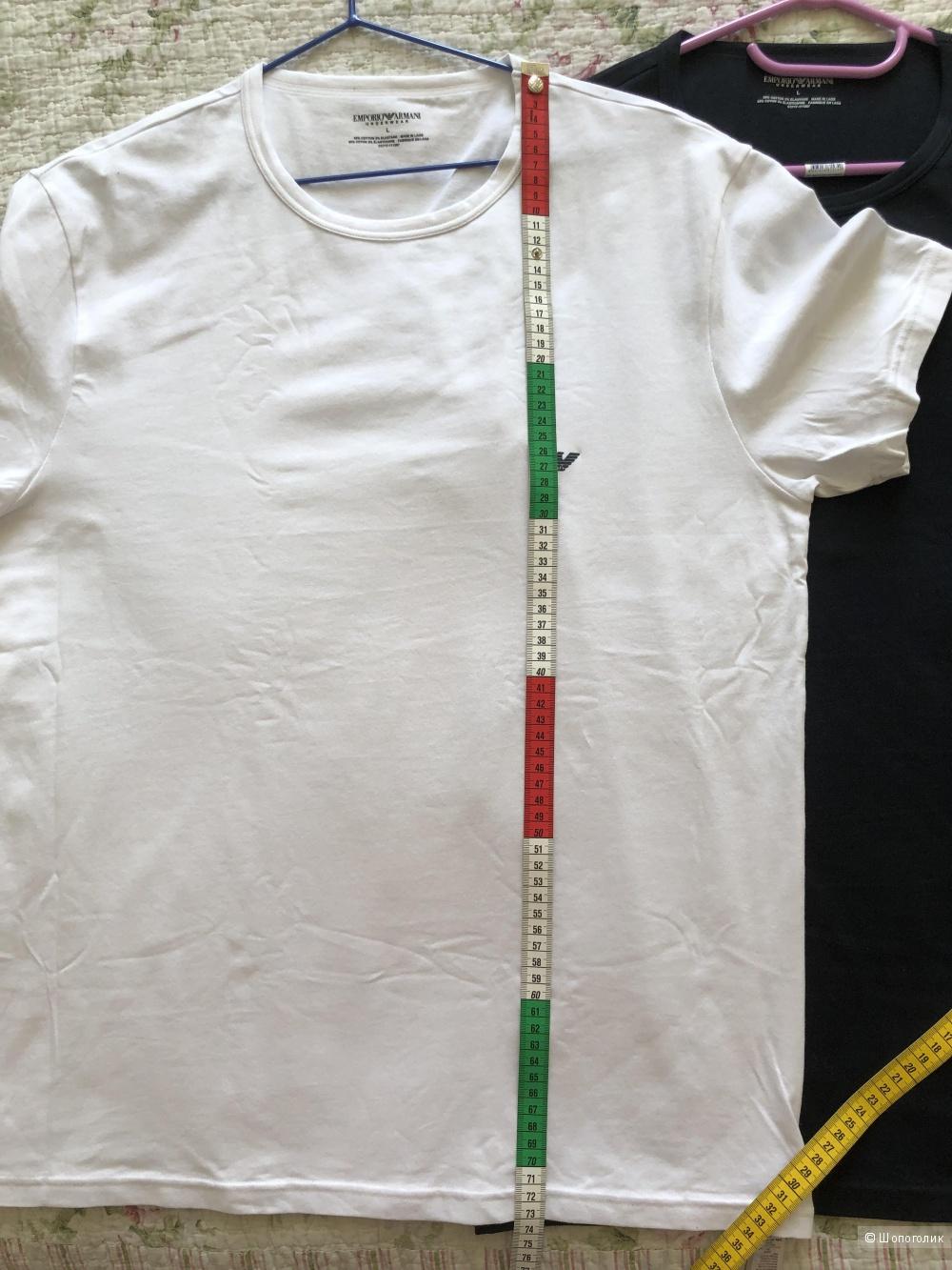 Комплект из двух мужских футболок EMPORIO ARMANI р. L