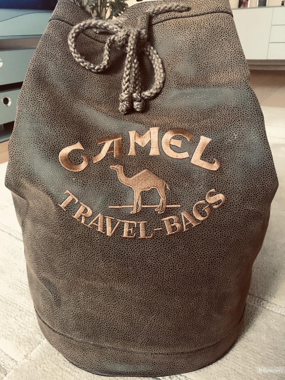 Кожаный рюкзак,CAMEL