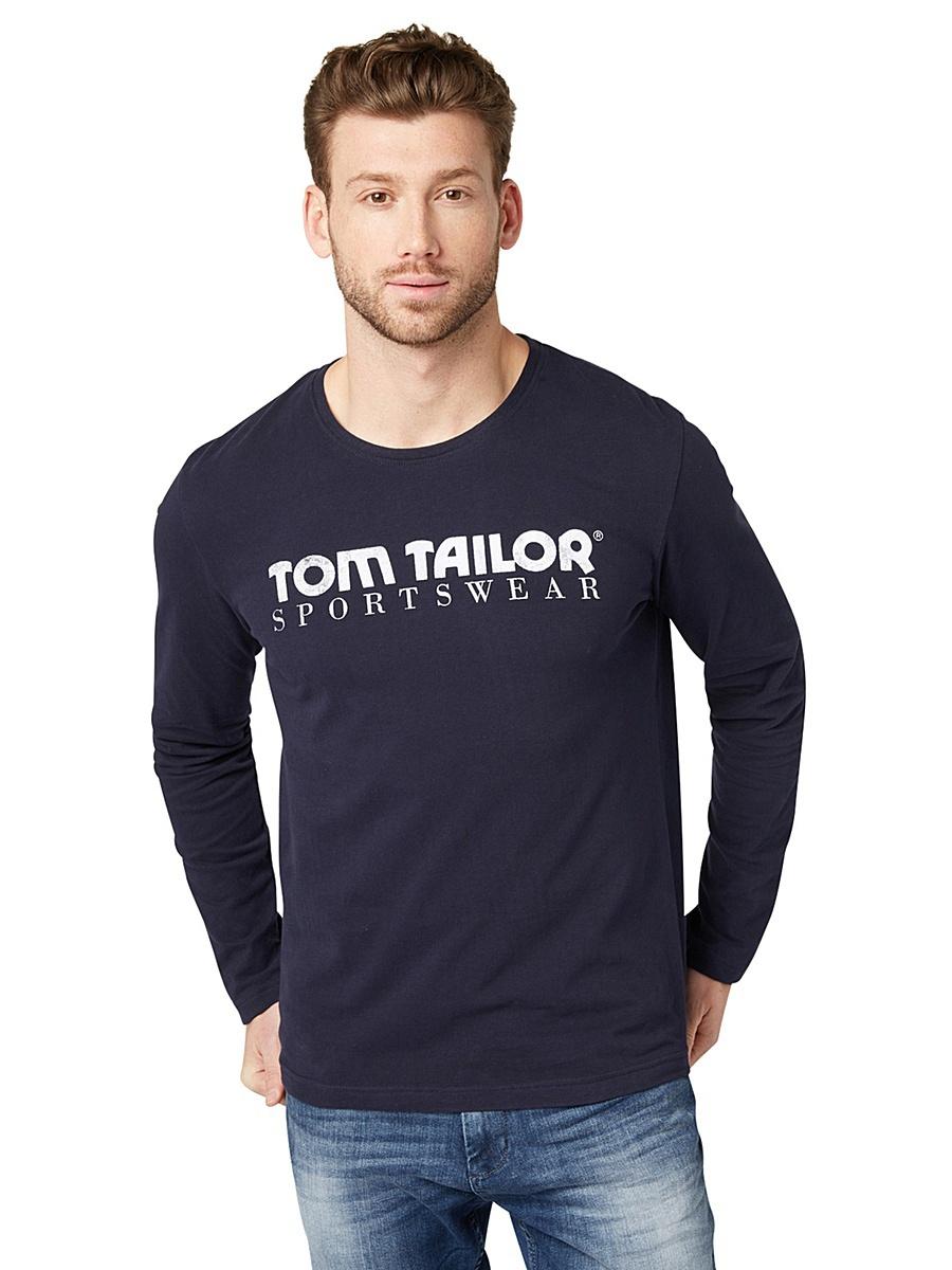 Футболка с длинным рукавом, Tom Tailor, L