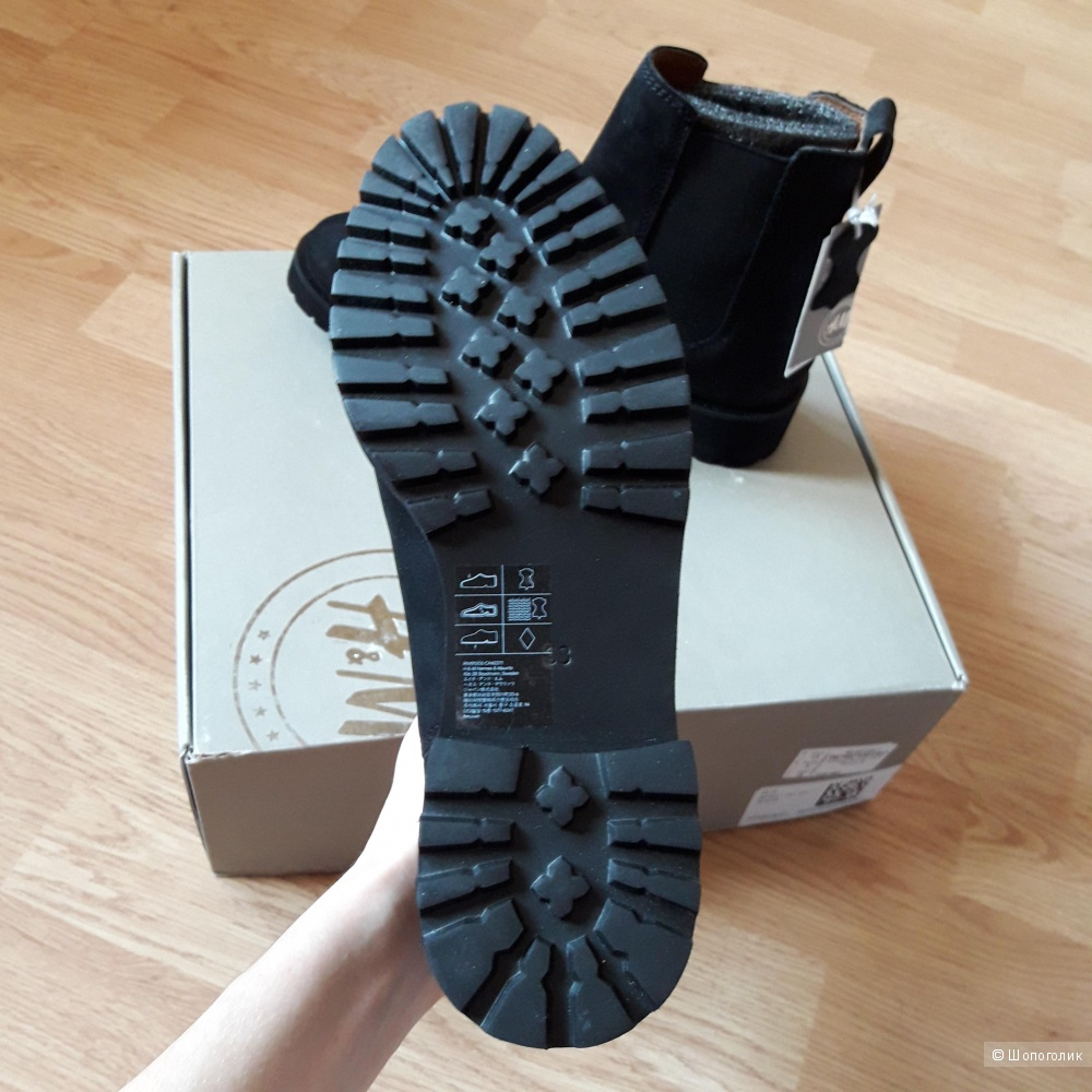 Ботинки челси H&M размер eur 38