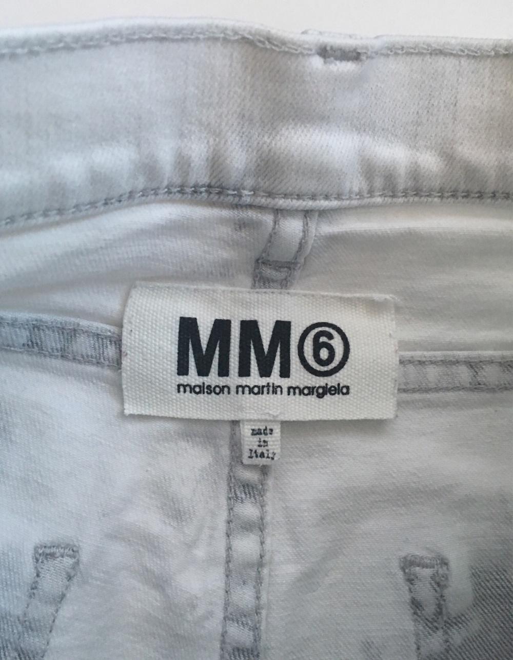 Джинсы MM6 MAISON MARTIN MARGIELA , 26 размер