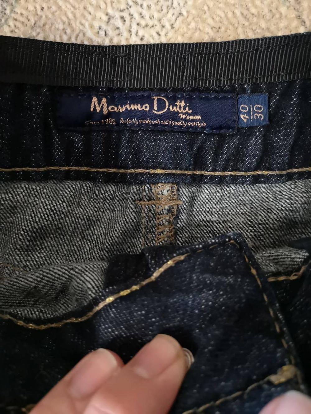 Джинсовая юбка Massomo Dutti, S